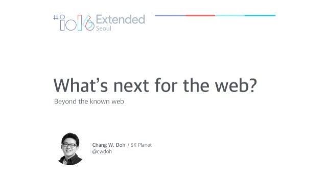 What is next for the web