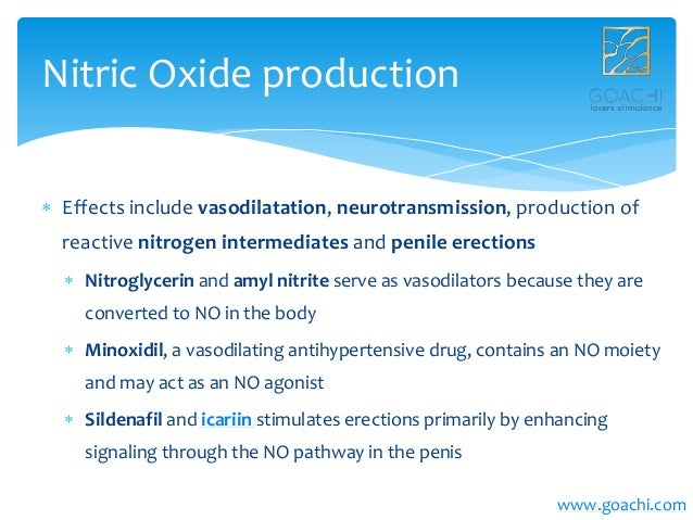 Where is nitric oxide produced in the body