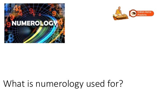 What is numerology used for?