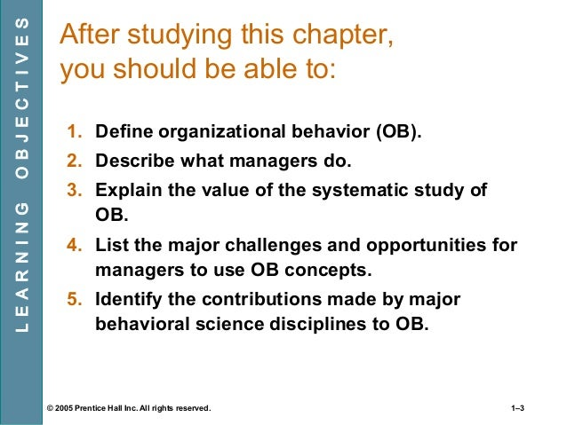 organisational behaviour challenges sb Subject:human resource management paper: organisational behaviour.