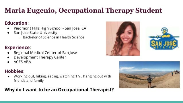 why want occupational therapist