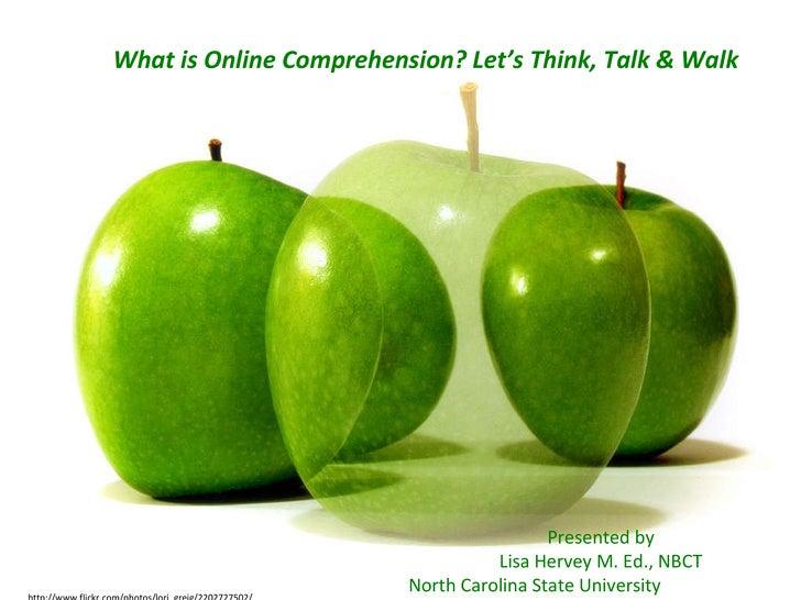 http://www.flickr.com/photos/lori_greig/2202727502/ Presented by Lisa Hervey M. Ed., NBCT North Carolina State University ...