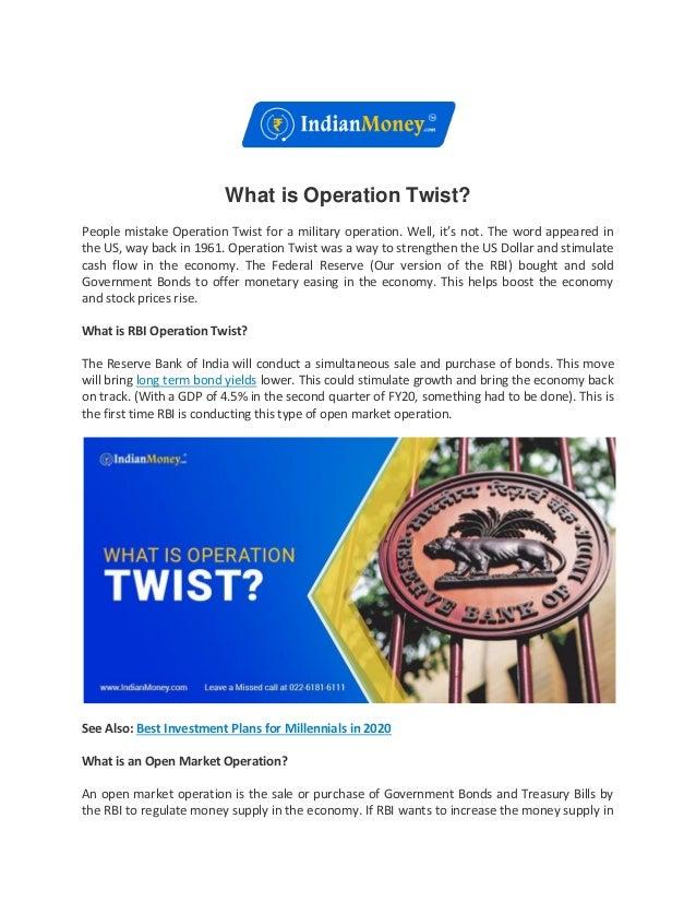 Design Bank Twist.What Is Operation Twist