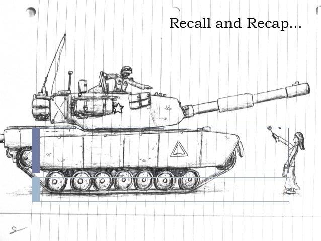 Recall and Recap...