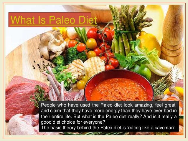 Caveman Diet Ideas : Paleo diet meal plan