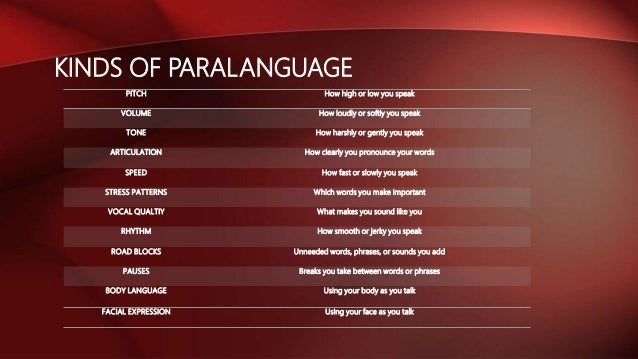Paralanguage: definition & examples video & lesson transcript.