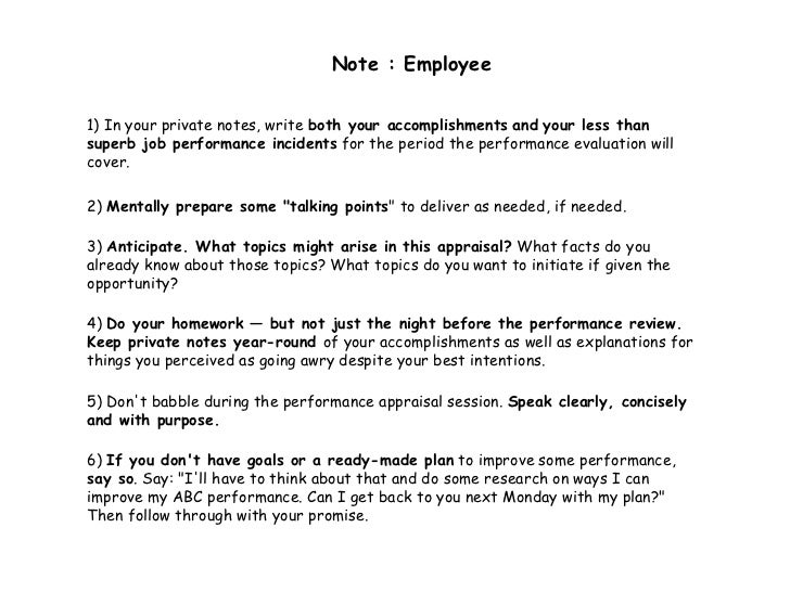 what to write in a performance review Performance reviews are a great way to give feedback to your boss, as well here are seven things you should say for me, i wanted to use a tool called outbrain , which is a new type of ad network for content, which i happen to write a ton of i mentioned and explained to my manager during my review.