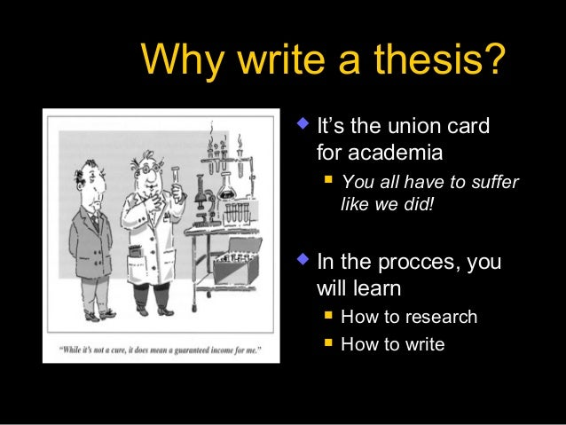 What is thesis for phd