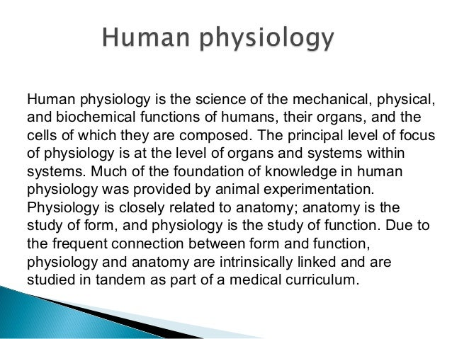 paul alleva | what is physiology, Human Body