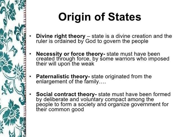 divine right theory definition