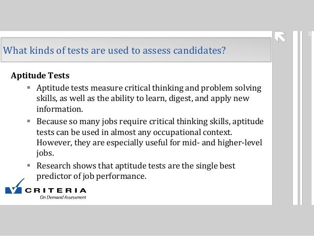 what is a pre hire assessment