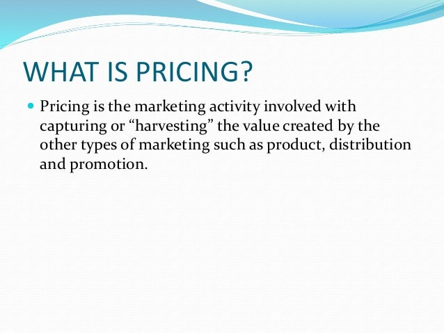 Pricing Strategy Slide 3