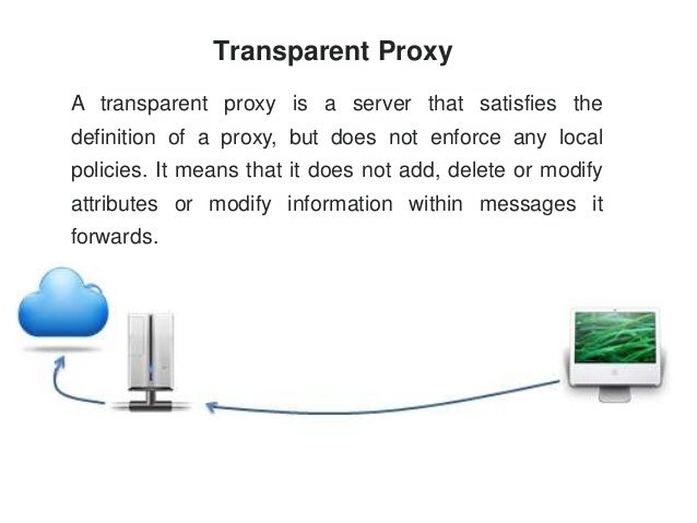 What is proxy server?