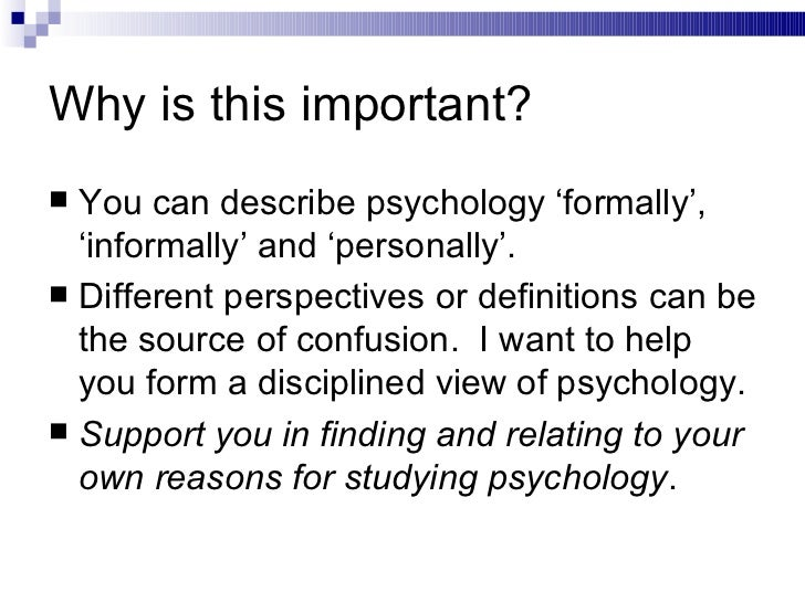 7 reasons to study psychology