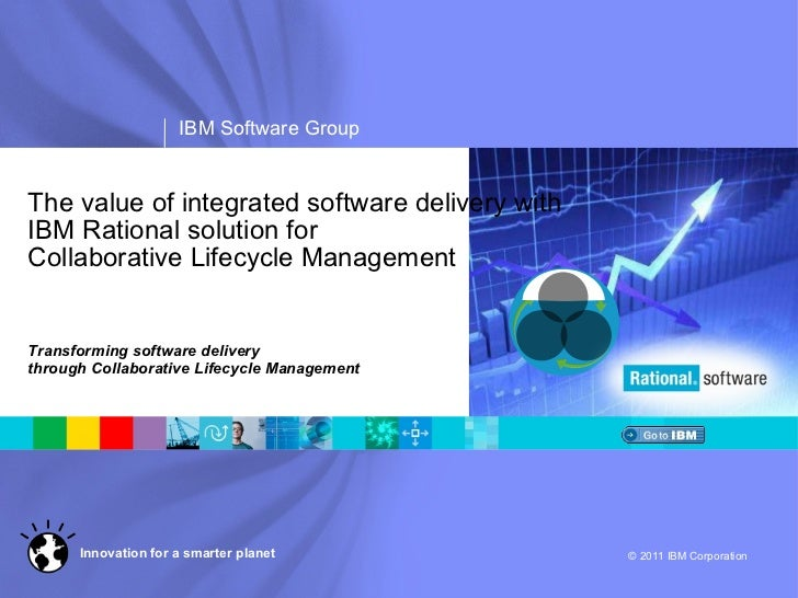 The value of integrated software delivery with IBM Rational solution for  Collaborative Lifecycle Management Transforming ...