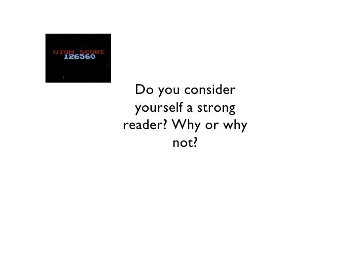 What is reading?
