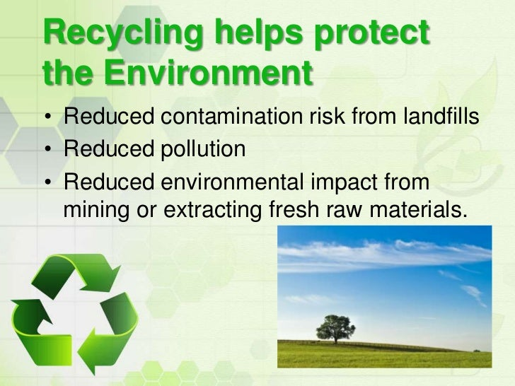thesis statement on benefits of recycling While many people can see the environmental benefits of recycling, there are other factors at play as with all argumentative essays choose your position and with the help of the questions and conflicts you have asked yourself about, come up with a thesis statement and supporting evidence to go with it contact or visit a.
