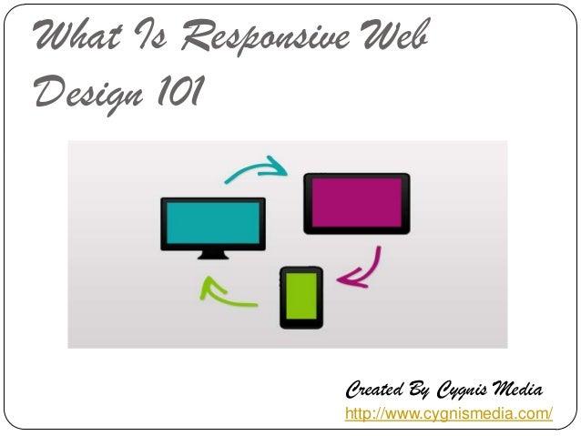 What Is Responsive Web Design 101  Created By Cygnis Media http://www.cygnismedia.com/