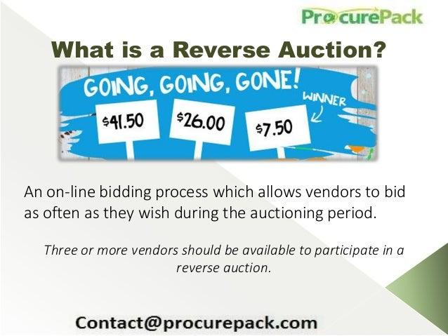 Reverse auction betapharm