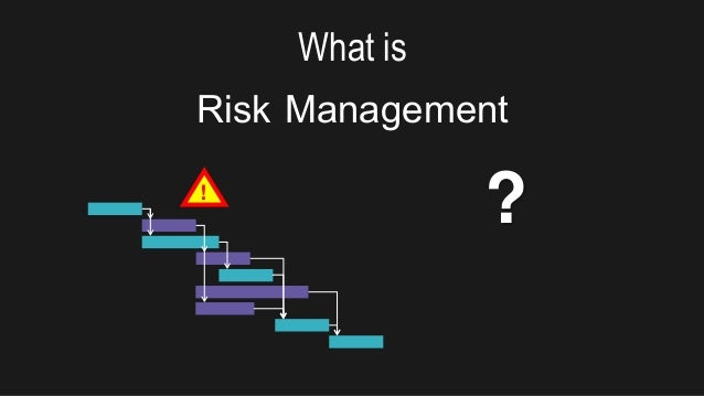 What is Risk Management ?!