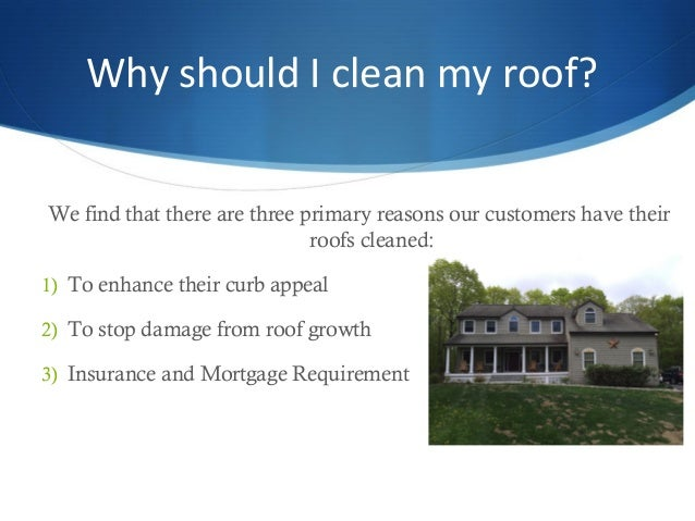 3. Why Should I Clean My Roof?