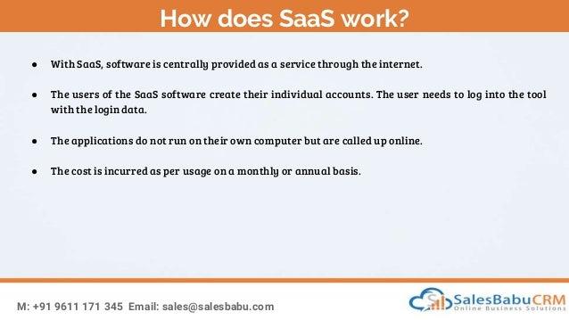 What is SaaS? Slide 3