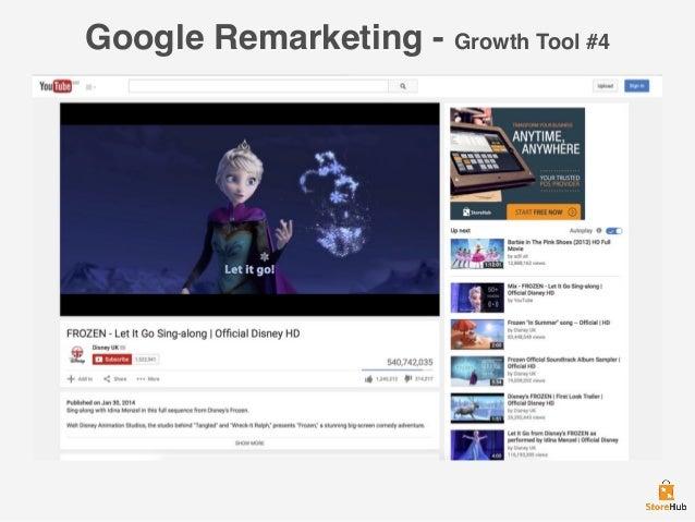 Google Remarketing - Growth Tool #4