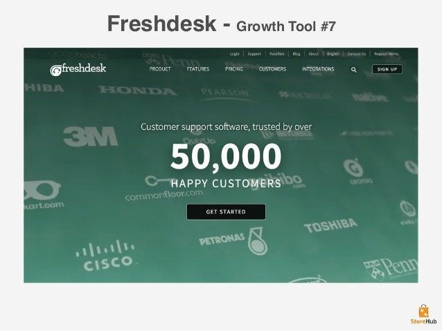 Freshdesk - Growth Tool #7