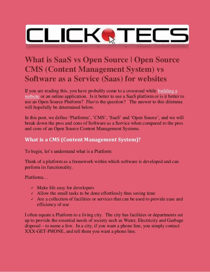 open source cms systems
