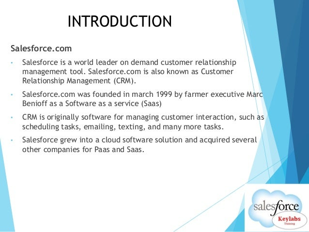 Salesforce Online Training Slide 2