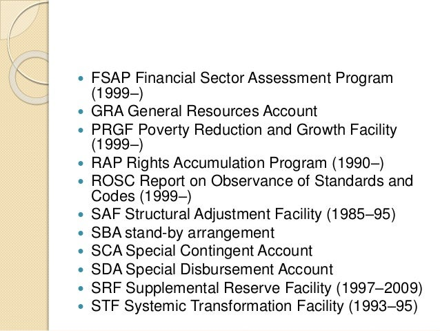 structual adjustment programs Summary: this report is a prospective analysis of the effect of structural adjustment programs on the the principal aim of structural reforms has.