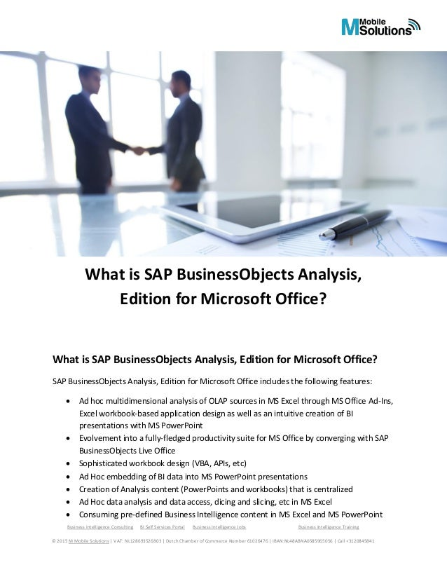 what is business objects