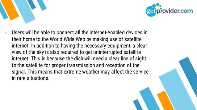 What Is Satelite Internet