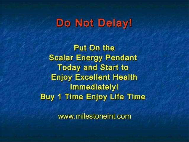 What is Scalar Energy 03364509868