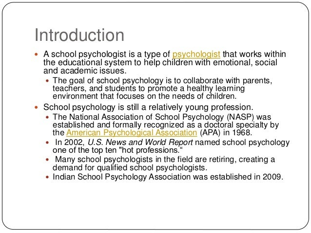 what is school psychology, Human Body