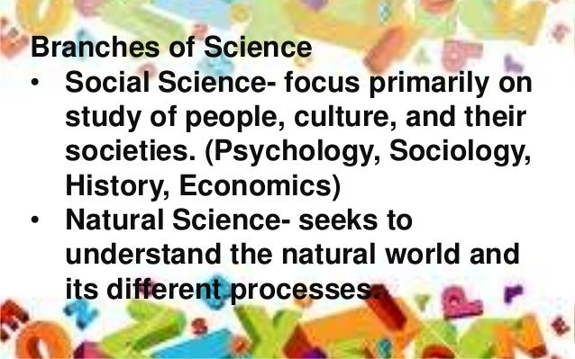 Is Sociology Used To Study Natural Science