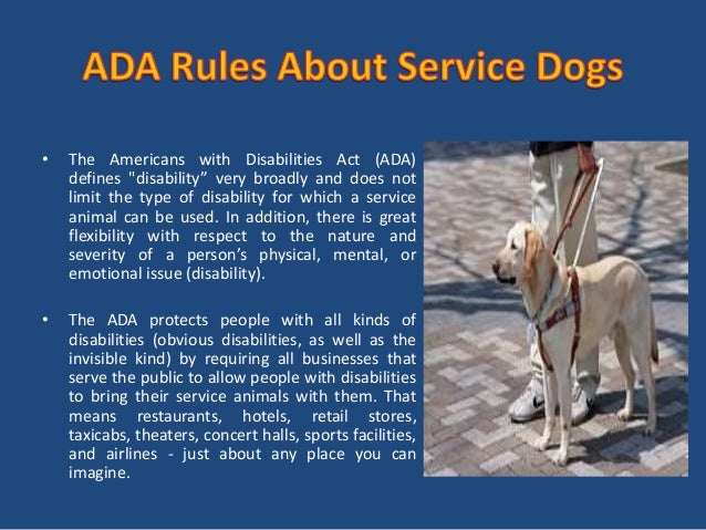 What is service dog id and why you need service dog id ?