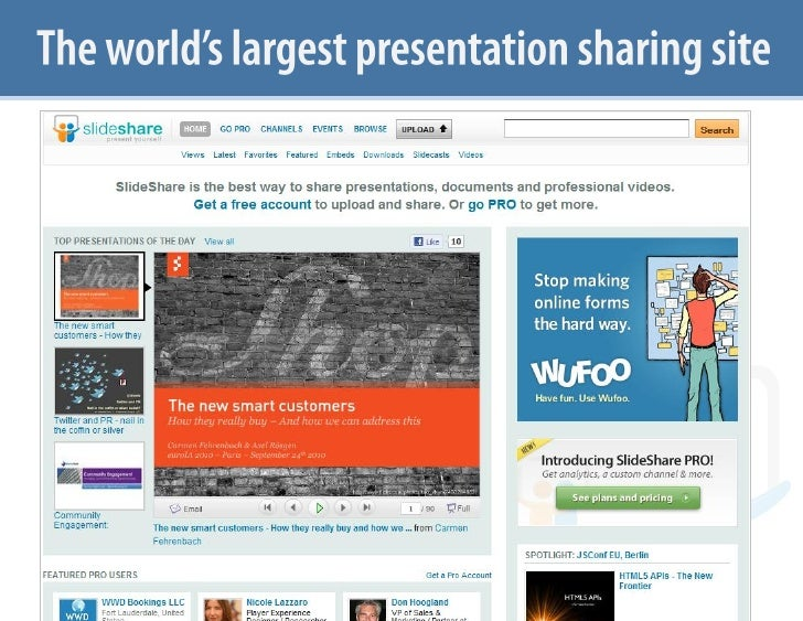What is SlideShare May 18 Slide 2