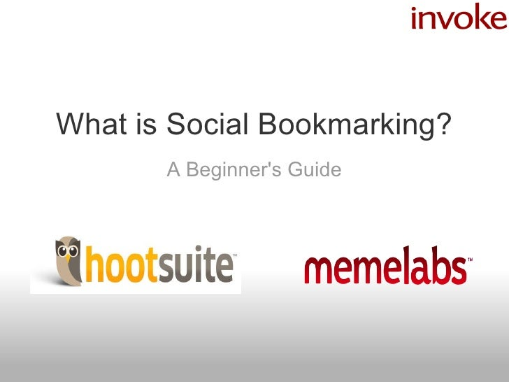 What is Social Bookmarking? A Beginner's Guide
