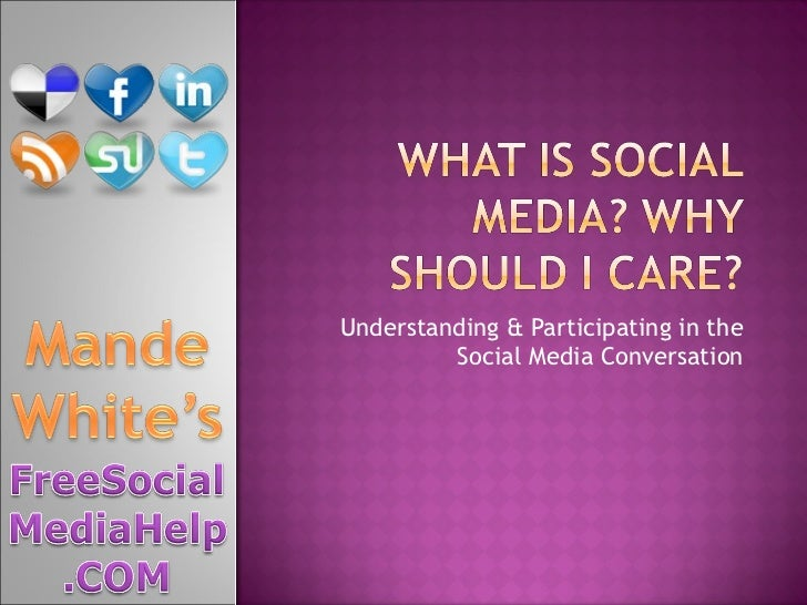 Understanding & Participating in the Social Media Conversation