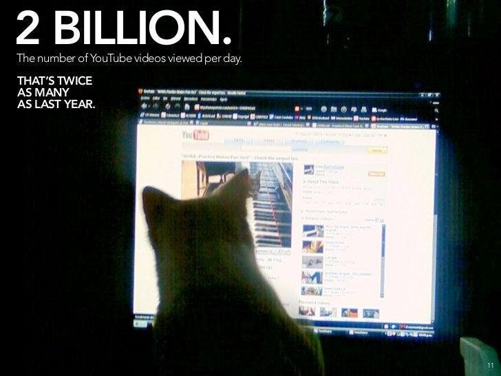 4 BILLION. The number of images hosted on Flickr.                                              12