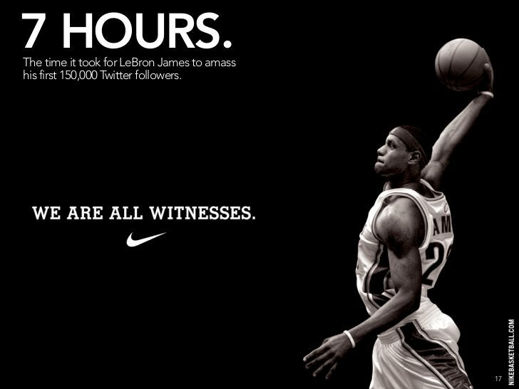 7 HOURS. The time it took for LeBron James to amass his first 150,000 Twitter followers. It took Bill Gates 8 hours to rea...