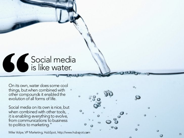 """"""" Social media is the best way to reach your most influential customers, and the only way to reach your most cynical ones...."""