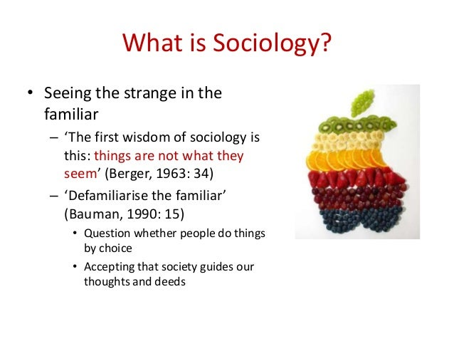 what is sociology People who major in sociology can choose one of many different career paths, including researching, teaching, or counseling sociology is one of.