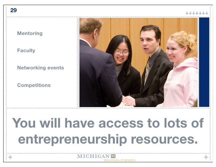 29        Mentoring        Faculty        Networking events        Competitions     You will have access to lots of  entre...