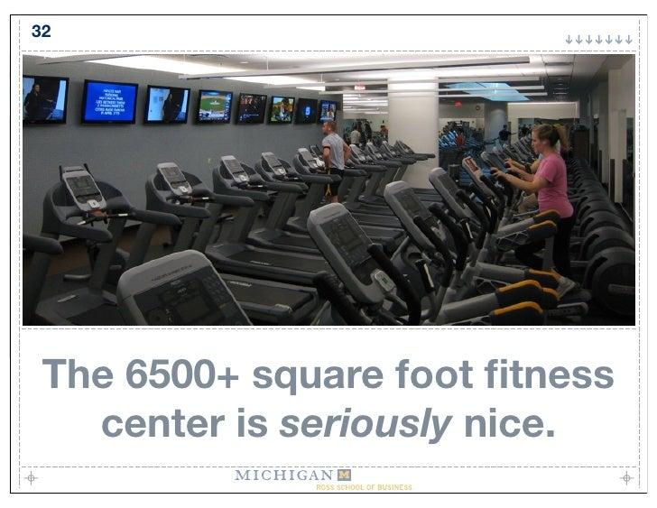 32      The 6500+ square foot fitness    center is seriously nice.