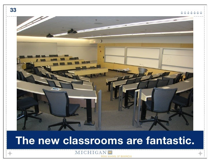 33      The new classrooms are fantastic.