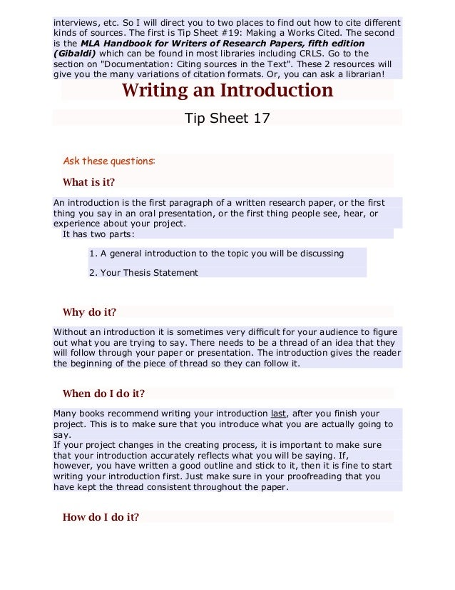 training on research process and writing a scientific paper The seven steps of the research process the following seven steps outline a simple and effective strategy for finding information for a research paper and documenting.