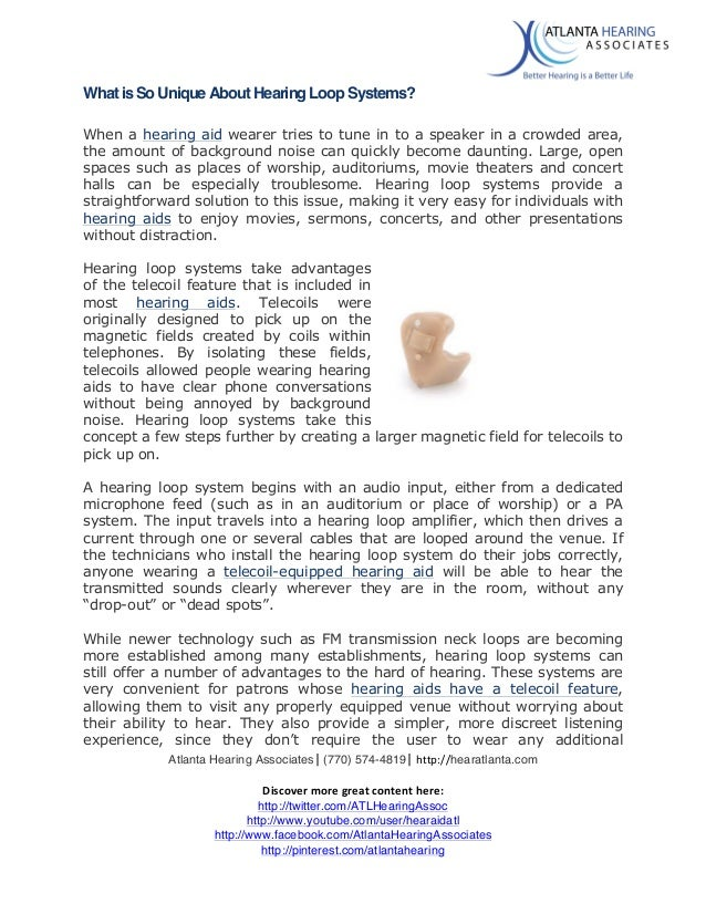 Atlanta Hearing Associates   (770) 574-4819   http://hearatlanta.com      Discover  more  great  content ...