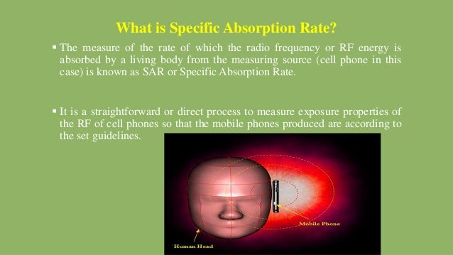 what is specific absorption rate